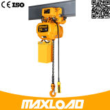 Entrega rápida e mini grua Chain elétrica segura de 0.5 toneladas