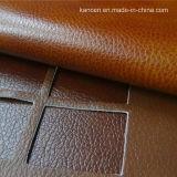 Cuoio sintetico alla moda di scintillio (KC-W021)