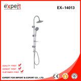 高品質Chromed Stainless Steel Shower Set Circle Shower HeadおよびShower Hand