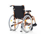 Стальное Manual люкс Wheelchair с Lightweight, Muti-Function для престарелого (YJ-037D)
