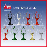 LED를 가진 녹색 Color Windmill House Decorative Tabletop Lamp
