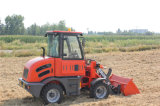 Everun 0.8ton Cer Approved Er08 Mini Loader mit Rops&Fops Cabin für Sale