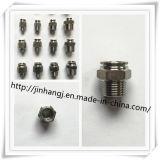 Connecteur masculin d'acier inoxydable (304/316)