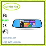"""8 """" WiFi duels de navigation de la lentille DVR GPS de stationnement d'écran tactile d'étalage de véhicule de tableau de bord de came d'appareil-photo androïde de tableau de bord"""