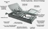 кровать короля Размера 6FT супер (2X3FT) Шарлотта регулируемая