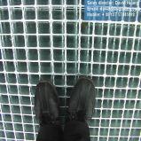 Semelles d'escalier galvanisées d'IMMERSION chaude pour l'échelle de structure métallique