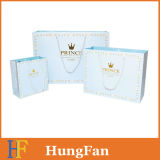ورقة المغلفة المطبوعة تصميم الطازجة كيس الهدايا مع حبل القطن