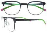 Blocco per grafici di alluminio rotondo di Optik di vendita delle signore del blocco per grafici italiano superiore caldo degli occhiali per le ragazze