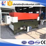 Máquina de corte hidráulica do feixe do couro da Quatro-Coluna