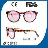 Солнечные очки ацетата с объективом Cr39 Revo, принимают Customrized ваш логос