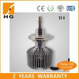 H4 LED Scheinwerfer des Scheinwerfer-4500lm der Qualitäts-H4 LED
