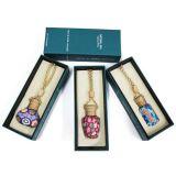 Caixa de empacotamento de papel do perfume com selo Foiling dourado