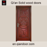 Cheeyの木製のチェリーの純木の前ドア
