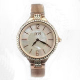 Rosa Golden Plated Wristwatch per Lady Lw-05A