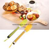 Clip de restauration de barbecue de cuisine de buffet de traitement de pinces de nourriture de silicones
