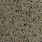 Dessus en pierre de Tableau de dessus de vanité de partie supérieure du comptoir de quartz