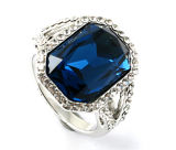 De mooie Ring R10575 van de Juwelen van de Parel van het Zoet water van het Ontwerp Zilveren Zilveren