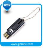 Disco instantâneo do USB do mini tamanho por atacado 8GB com corpo do metal