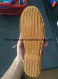 Комфорт ботинок холстины женщин способа обувает Stock ботинки (FF521-1)