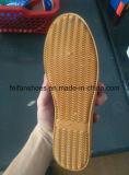 Наиболее поздно шток ботинок холстины цвета смешивания дешево хорошего качества (FF521-1)
