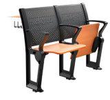 Escritorio del estudiante de los muebles de escuela de la silla de la sala de clase y conjunto de aluminio determinados de la silla