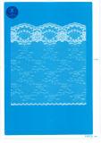 Merletto non elastico per vestiti/indumento/pattini/sacchetto/caso F1717 (larghezza: 1.4CMM a 24cm)