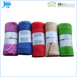 2014 effen kleur Polar Fleece Blanke, Beddingt, Gratis Samples