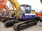 El excavador usado KOMATSU original PC220-6 de KOMATSU utilizó el excavador de la correa eslabonada de 20 toneladas