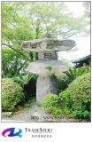 Illuminazione esterna della lanterna di pietra del granito per la decorazione dell'indicatore luminoso del giardino