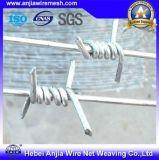 Дешево! Горячая окунутая электрическая гальванизированная двойная колючая проволока закрутки ограждая реальную фабрику (ISO)