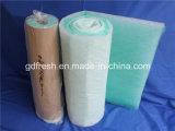 De la fibra de vidrio de la pintura de la parada filtro de aire de los media del filtro de aire pre
