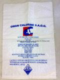 Sac d'emballage d'engrais de transporteur tissé par pp de plastique personnalisé par vente en gros