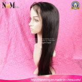 Form-brasilianisches Haar-volle Spitze-Menschenhaar-Perücken