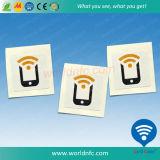 Rodillo de papel autoadhesivo etiqueta RFID etiqueta