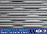 نمو تصميم طلية جدار موجة لوح زخرفيّة