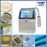 Stampante di getto di inchiostro industriale di codice della data della stampante della conduttura del PVC di Ldj V280