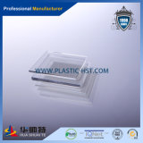 Feuille claire de plexiglass