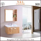 Spaanse Vloer die de Sanitaire Ijdelheid van het Kabinet van de Badkamers van Waren bevinden zich
