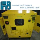 Conjunto diesel silencioso tamaño pequeño de la GEN del generador de potencia del pabellón 30kVA de la prueba de los sonidos de Tailandia