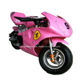 Motocicleta barata del gas como transporte