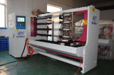Machine de découpage en tranches à grande vitesse de découpage de bande de PVC