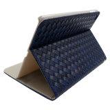 De kleine Gevallen van het Leer van het Patroon van het Weefsel van de Cel voor iPad/iPad Mini