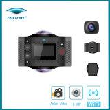 360 macchina fotografica del video 4k HD Vr 3D di angolo
