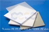 Hoja plástica de los PP de la Virgen con el embalaje/la cocina/la cadena de producción