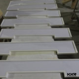 De Witte Gebouwde Bovenkant van uitstekende kwaliteit van de Ijdelheid van de Badkamers van de Steen