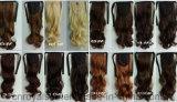 Ponytail sintetico ondulato di nuova di modo 2016 di alta qualità estensione dei capelli