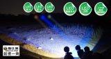 (FL-X814B) 2W 3W 5W LED Lithium-Batterie-kampierendes im Freienkohle-Bergmann-Lampen-Bergbau-Scheinwerfer-sich hin- und herbewegendes Licht des Scheinwerfer-2PCS nachladbares, Licht fischend