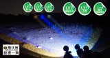 (FL-X814B) 2W 3W 5W LED farol 2PCS bateria de lítio recarregável Camping Outdoor Coal Miner Lamp Mining Headlamp Floating Light, Fishing Light
