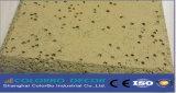 Panneaux de mur acoustiques de Nterior de la colle de fibre de copeaux de bois d'isolation saine