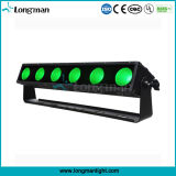 Outdoor 6PCS 25W RGBAW 5in1 LED Pixel Light Bar